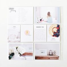 Happy 2016 everyone! It's Carly here today to share a little peek into my 2016 Project Life album. This year I decided I would continue on with my album size and not change much up… Project Life Scrapbook, Project Life Album, Project Life Layouts, Digital Project Life, Book Layouts, Crate Paper, Studio Calico, Book Projects, Photo Projects