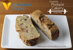 Protein Banana Nut Bread - Andréa's Protein Cakery high protein recipes - gluten free, plant protein