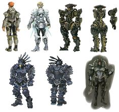 Reyn Concepts from Xenoblade Chronicles