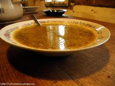 dýňová polévka Soups, Pudding, Cooking, Desserts, Food, Kitchen, Tailgate Desserts, Deserts, Eten