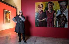 """Graça Morais - Graça Morais: """"A pintura não pode ficar indiferente às situações dramáticas. A grande arte não é decorativa"""""""