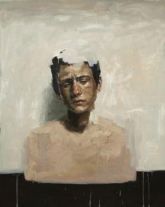 The Disappearing Boy,  Archival Digital Fine Art Print of Original Oil Painting Portrait. $50.00, via Etsy.