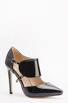 Cut Out Design Heels