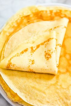 This is a simple, foolproof, and tasty Sweet Crepes recipe. my step-by-step photos or video instructions to make this scrumptious treat at home. Crepe Recipes, Brunch Recipes, Dessert Recipes, Breakfast Dishes, Breakfast Recipes, Sweet Breakfast, Breakfast Ideas, Breakfast Healthy, Perfect Breakfast
