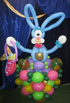 Easter Bunny Twist Balloon