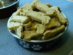 a girl, a dog & an oven: Cooking for Canines: Bacon Birthday Biscuits
