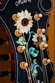 Mowry octave mandolin inlay
