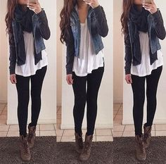 winter outfits with leggings - Google Search