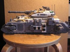 181911_md-Conversion, Space Marines, Super-heavy, Tank.jpg 800×598 pixels
