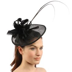 Handmade Feathers Floral Headband Fascinator Disc Millinery Cocktail Hat | eBay