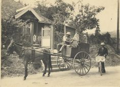 old photograph of Jamaican post office and mailmen from the 19th century