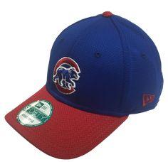 9f80531f27f Chicago Cubs Walking Bear Logo Performance 39THIRTY Flex Fit Hat By New Era