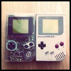 """Twins"" by Daruma Studio #tumblr #retro #gameboy #8bit"