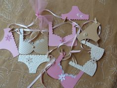 Lingerie Bachelorette Party Banner Decoration by AllThingsTisha, $20.00 Maybe we could make something similar