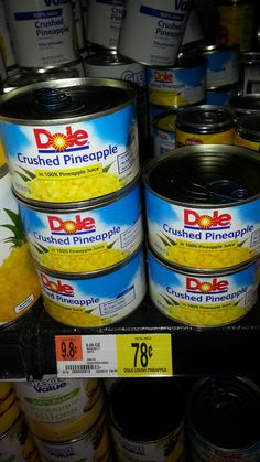 Dole Canned Pineappl