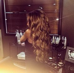 Perfect Long Curly Hair
