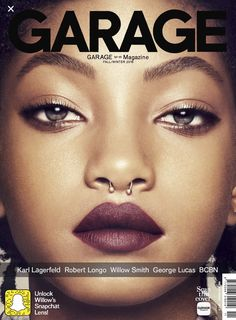 Willow Smith for Garage Magazine No. 11 Fall Winter 2016 by Phil Poynter