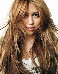 Light Auburn Hair as seen on Miley Cyrus