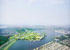 Floriade 2022 world horticultural expo bid in Almere by MVRDV - Dezeen