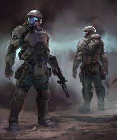 Science Fiction Concept Halo 5 70 Ideas For 2019 Armor Concept, Concept Art, Odst Halo, Halo Armor, Halo Reach Armor, Halo Spartan Armor, Spartan Helmet, Halo Series, Combat Armor