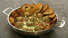 One-pot meatballs i chunky tomatsauce