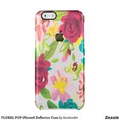 FLORAL POP iPhone6 Deflector Case Uncommon Clearly™ Deflector iPhone 6 Case