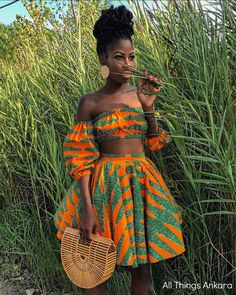 Never underestimate the power of a Black Woman 👑 african fashion African Fashion Ankara, Latest African Fashion Dresses, African Inspired Fashion, African Print Fashion, Africa Fashion, African Prints, African Fabric, African Attire, African Wear