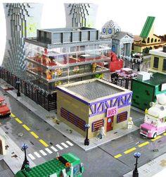 Les Simpson – La ville de Springfield recréée en LEGO !: