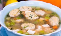 Home & Family - Recipes - Roasted Leftover Turkey Soup with Dumplings | Home & Family
