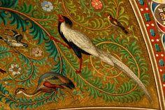 Les mosaïques - Site officiel de la Basilique Notre-Dame de la Garde Marseille Mosaic Birds, Mosaic Madness, Tile Art, Byzantine, Fresco, Interior And Exterior, Glass Art, Interior Decorating, Arts And Crafts
