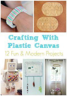 Plastic Canvas Roundup: 12 Modern & Fun Craft Ideas
