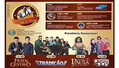 SHOWS MARCAM O ANIVERSÁRIO DE ITAÚ DE MINAS. http://www.passosmgonline.com/index.php/2014-01-22-23-07-47/geral/2685-shows-marcam-o-aniversario-de-itau-de-minas