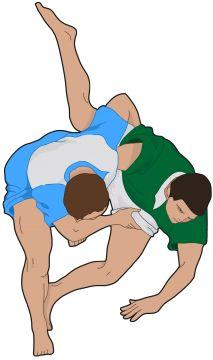 Resultado de imagen de dibujo de lucha canaria