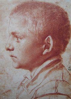 Annibale Carracci (1560–1609) Bolognese school - Portrait of a boy