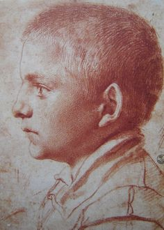 Annibale Carracci (1560–1609) Bolognese school - Portrait of a boy