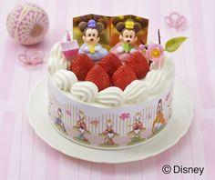 ミッキー&ミニーのケーキで、ひなまつりをお祝い!銀座コージーコーナー「苺のひなまつり」
