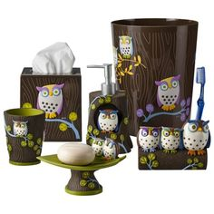 Awesome Owls Bath Coordinates Collections Target