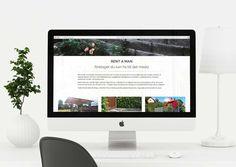 Design by NOJD. Case: Website design to create better communication for Rent A Man