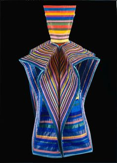 c.1984 Roberto Capucci - This is even better than Josephs' dreamcoat.