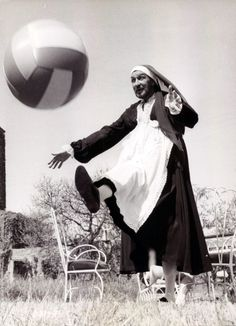 Vincent Price dressed as a nun, playing football. your argument is invalid.