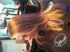 Natural blonde ombré- Stylist Jamie Croce