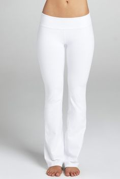 Flexi Lexi White Peek A Boo 2 White Yoga Pants | Yoga Pants ...