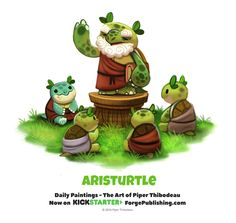 Daily 1369. Aristurtle by Cryptid-Creations on DeviantArt