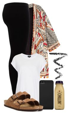 """#12"" by oneandonlyfashion ❤ liked on Polyvore featuring H&M, Gestuz, Topshop, CO, Incase and Birkenstock"