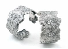Buccellati's Silver Bracelets, Beautiful.