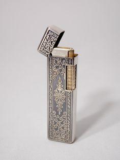 Vintage Metal Lighter- www.eleven-26.com/