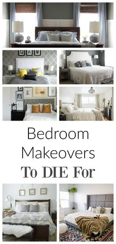LOVE these!  Oh My, I can't wait to makeover my bedroom.  This site also has hundreds of other tutorials and tips on painting anything in or outside of your home!  A must REPIN for DIYers