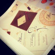 Nuestras invitaciones en la revista Novias, Grupo Nación, 2013.