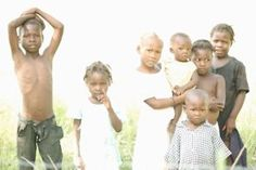 Children of Haiti by Olivia Prendergast.