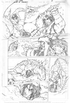 Warcraft comics1 pencils 5 by LudoLullabi